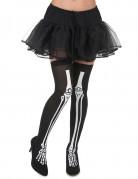 Bas squelette femme Halloween
