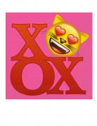 20 Serviettes en papier Emoji™ 33 x 33 cm