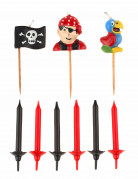 15 Bougies d'anniversaire Pirate