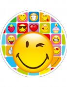 Déguisement Emoji Bisou Coeur Enfant Décoration Anniversaire Et