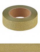 Washi tape glitter doré 10 m