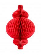 Lanterne alvéolée en papier 30 cm