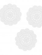 10 Confettis en papier dentelle