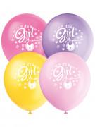 8 Ballons en latex Baby Shower