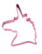 Emporte-pièce licorne rose 12.5 x 9 x 2.5 cm