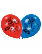 6 Ballons latex Super Mario™