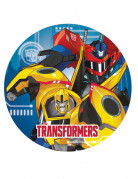8 Assiettes en carton Transformers Robots in Disguise™ 23 cm