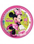 8 Assiettes en carton FSC Minnie Happy™ 23 cm