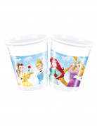 8 Gobelets en plastique Princesses Disney Dreaming™ 200 ml