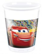 8 Gobelets en plastique 200ml Cars 3™