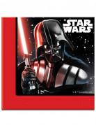 20 Serviettes en papier Star Wars Final Battle™ 33cm