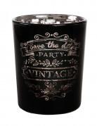 Photophore noir vintage
