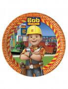 8 Assiettes en carton 23cm  Bob the builder ™