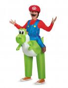 Déguisement gonflable Mario sur Yoshi Nintendo® enfants
