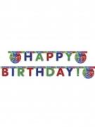 Guirlande Happy Birthday Pyjamasques ™ 200 x 16 cm