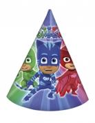 6 chapeaux de fête Pyjamasques ™