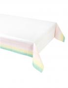 Nappe pastel en plastique 180 x 120 cm