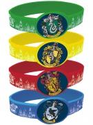 4 Bracelets élastiques Harry Potter ™