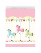 10 Sachets en papier Carrousel 16.5 x 22.2 cm