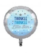 Ballon en aluminium One Little Star bleu 45 cm