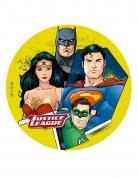 Disque en sucre Justice League ™ 16 cm
