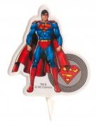 Bougie d'anniversaire Superman ™ 7.5 cm