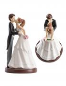 Figurine mariés baiser 16 cm