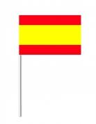 Drapeau papier Espagne 14 x 21 cm