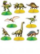 8 Mini centres de table Dinosaures