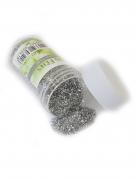 Pot de paillettes argentées 14 g