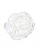 Décoration de table Rose ancienne blanche 12 cm