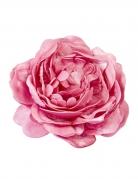Décoration de table Rose ancienne fuchsia 12 cm