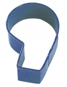Emporte pièce chiffre 6 ou 9 bleu 7.5 cm