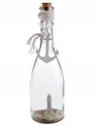 Bouteille en verre Bord de mer 27,5 cm