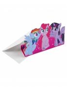 8 Cartons d'invitation My Little Pony™