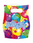 6 Sacs cadeaux Party