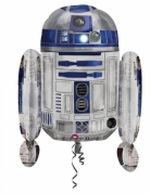 Ballon aluminium R2D2 Star Wars™ 55 x 66 cm