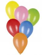 100 Ballons multicolores 23 cm