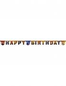 Guirlande happy birthday Cars 3™ 200 x 16 cm