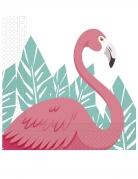 20 Serviettes en papier Flamingo 33 x 33 cm