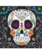 20 Serviettes en papier Tête de mort Day of the Dead 33 x 33 cm