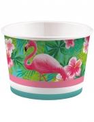 8 Pots à glace Flamingo Paradise 270 ml