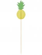 10 Pics en bois ananas alvéolé 20 cm