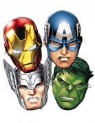 6 Masques en carton Avengers™