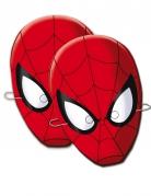 6 Masques en carton Spiderman™
