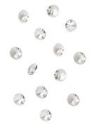100 Petits diamants de table irisés