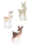 100 Confettis de table Biche 3,5 x 1,6 cm