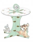 Présentoir à cupcakes en carton avec effet métallique premium Bambi™