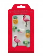 8 Mini figurines en sucre Summer 16 g