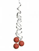 2 Suspensions spirales Ballon de basket 91,5 cm